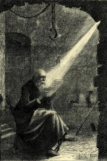 Juhn Hus in Prison Switzerland--Giclee Print