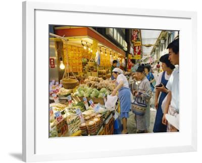 Jujo Market, Tokyo, Japan-R Mcleod-Framed Photographic Print