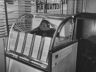 Jukebox Machine--Photographic Print