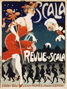 Scala, La Revue De La Scala by Jules-Alexandre Gr?n
