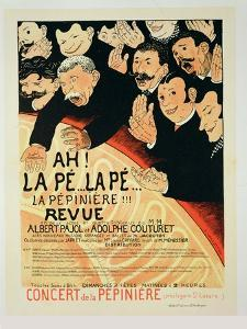 "Reproduction of a Poster Advertising ""Chauffons, Chauffons,"" a Pepiniere Concert, 1898 by Jules-Alexandre Grün"
