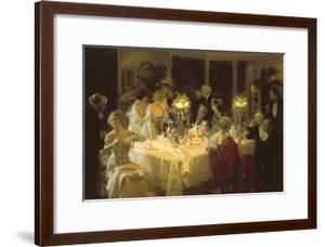 The Dinner Party by Jules-Alexandre Grün