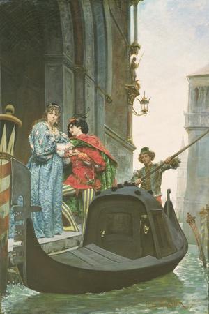 Evening in Venice, 1875