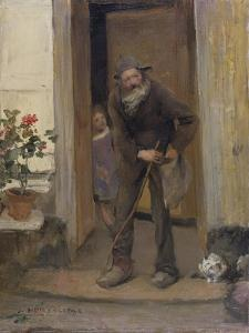 The Beggar, 1881 by Jules Bastien-Lepage