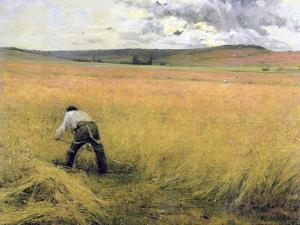 The Ripened Wheat, 1880 by Jules Bastien-Lepage