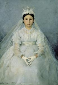 The Young Communicant, 1875 by Jules Bastien-Lepage