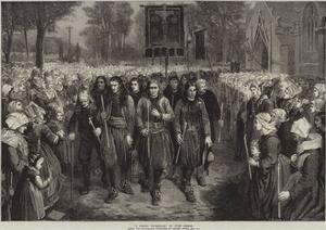A Breton Pilgrimage by Jules Breton