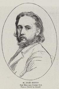 M Jules Breton by Jules Breton