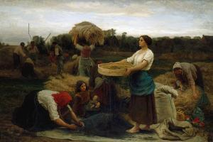 The Colza (Harvesting Rapeseed), 1860 by Jules Breton