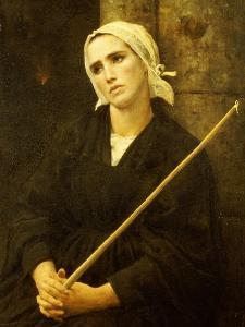 The Penitent, 1886 by Jules Breton