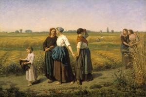 The Reapers, 1860 by Jules Breton