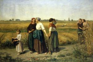 The Reapers, c.1860 by Jules Breton