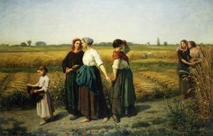 The Reapers by Jules Breton