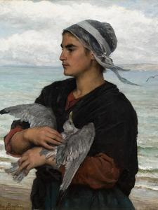The Wounded Sea Gull, 1878 by Jules Breton