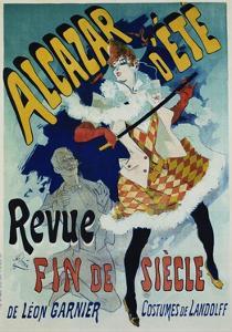Alcazar D'Ete - Revue Fin De Siecle Cabaret Poster by Jules Ch?ret