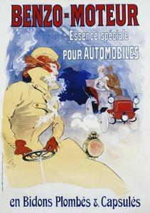 Benzo-Moteur Poster by Jules Ch?ret