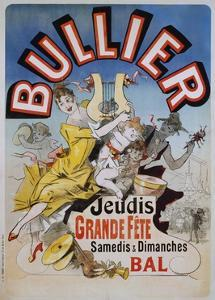 Bullier Poster by Jules Ch?ret