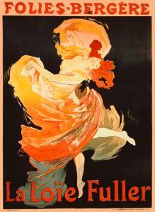 Folies Bergere, La Loie Fuller by Jules Ch?ret