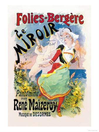 Folies-Bergere: le Miroir Pantomime