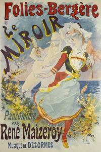Folies Bergere, Le Miroir by Jules Ch?ret