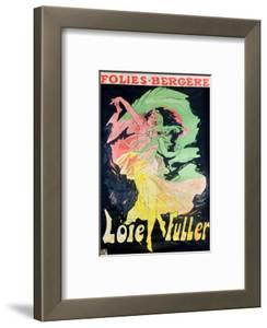 Folies Bergeres: Loie Fuller, France, 1897 by Jules Ch?ret