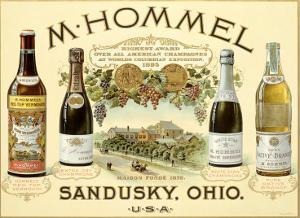 Hommel Champagne Vineyard by Jules Ch?ret