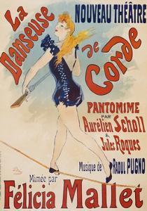 La Danseuse De Corde by Jules Ch?ret