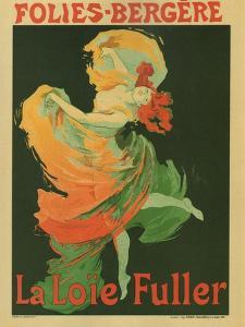 La Loie Fuller by Jules Ch?ret