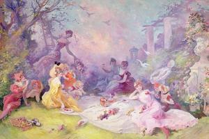 'Le Déjeuner Sur l'Herbe', 1904 by Jules Ch?ret