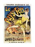 French Poster for Early Motion Picture Pantommes Lumineuses-Jules Ch?ret-Giclee Print