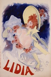 Lidia Poster by Jules Ch?ret