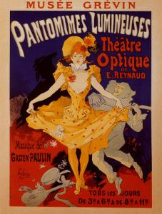 Pantomimes Lumineuses by Jules Ch?ret