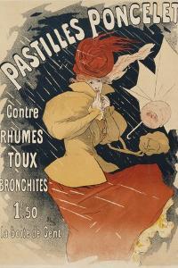 Pastilles Poncelet Poster by Jules Ch?ret
