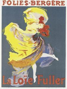 Poster Advertising a Dance Performance by Loie Fuller at the Folies-Bergere by Jules Ch?ret
