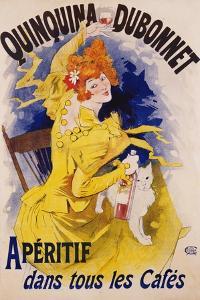 Quinquina Dubonnet Poster by Jules Ch?ret