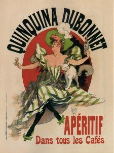 Quinquina Dubonnet by Jules Ch?ret