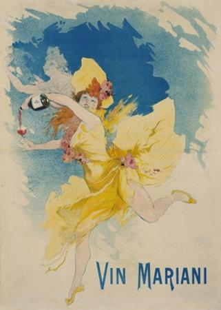 Vin Mariani Poster by Jules Ch?ret