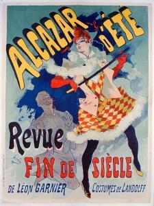 Alacazar D'Ete Poster, 1890 by Jules Chéret