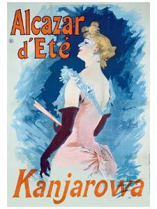 Alcazar d'Ete by Jules Chéret