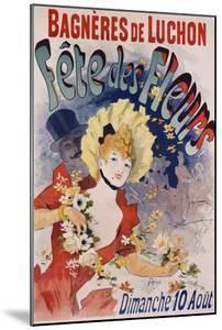 Bagneres De Luchon Fete Des Fleurs Poster by Jules Chéret