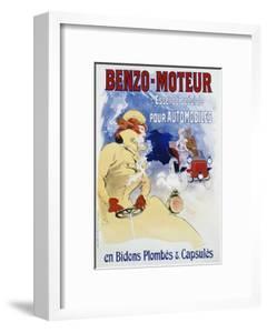 Benzo-Moteur Poster by Jules Chéret