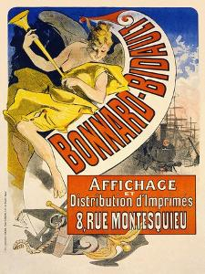 Bonnard Bidault by Jules Chéret