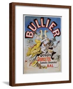 Bullier Poster by Jules Chéret