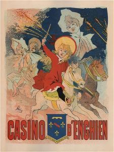 Casino De Enghien by Jules Chéret
