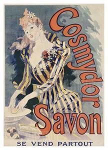 Cosmydor Savon by Jules Chéret