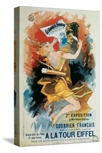 Courrier Francais, A La Tour Eiffel by Jules Chéret