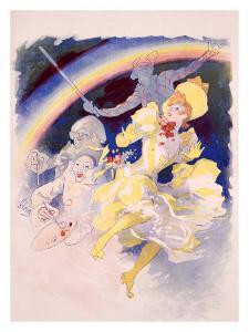 Folies Bergere, Arc En Ciel by Jules Chéret