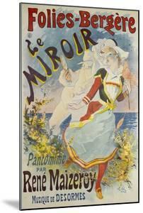 Folies Bergere, Le Miroir by Jules Chéret