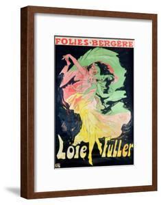 Folies Bergeres: Loie Fuller, France, 1897 by Jules Chéret