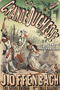 Grand Duchess of Gerolstein by Jules Chéret